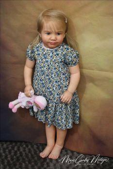 "SECONDS Realborn®  - June 3 Year Toddler (36"" Reborn Doll Kit)"