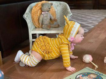 "Realborn® Brooklyn Crawling - 8 Month (24"" Reborn Doll Kit WITH TORSO)"