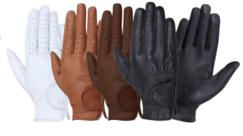 Hy5 Leather Riding Glove