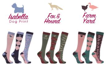 HyFASHION Print Socks (Pack of 3)