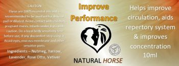 Improve Performance Oil PRE ORDER 4TH November