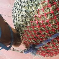 Slow/trickle  Feed Hay Net with thick 4mm anti rot string RRP £40