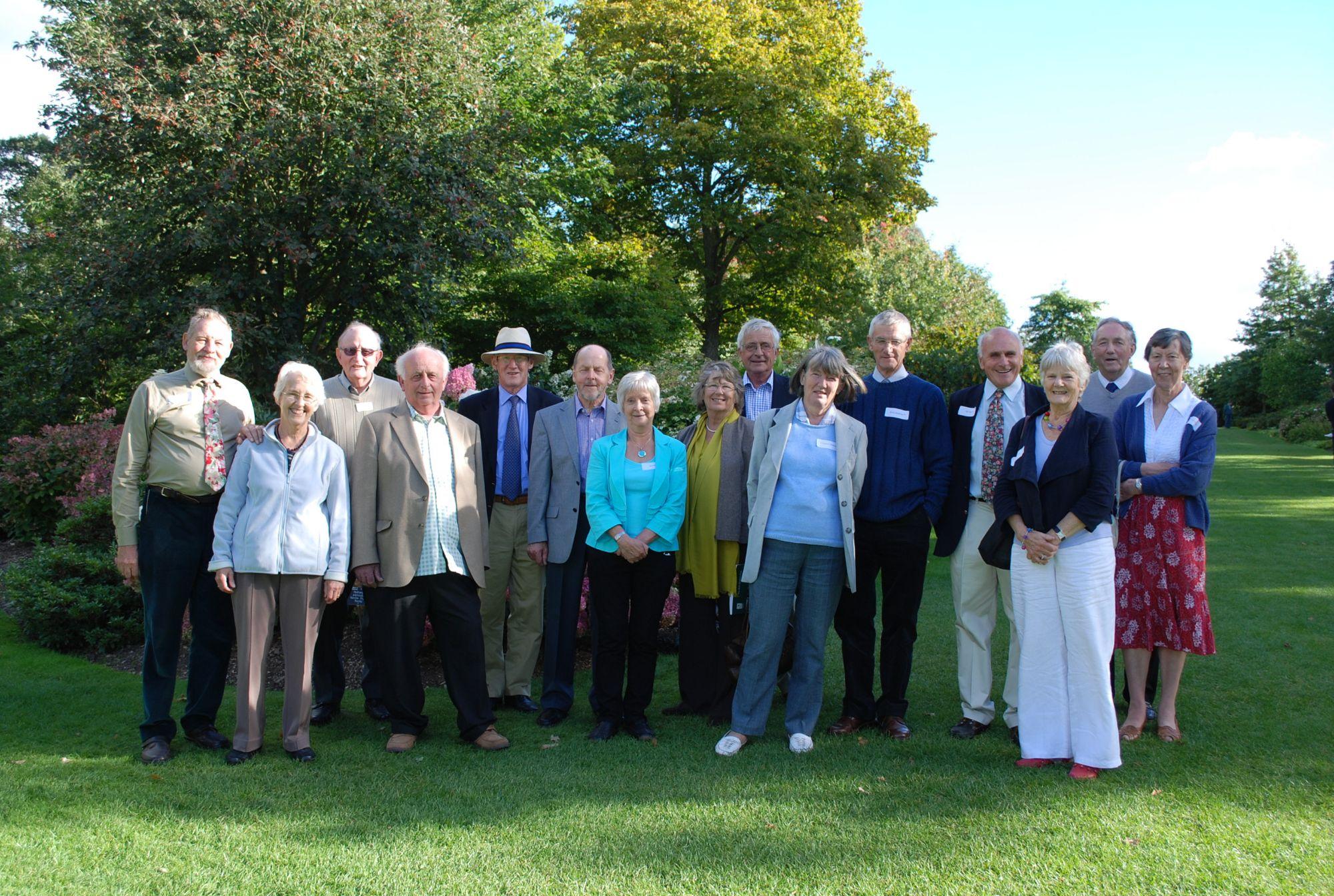 RHS students 1960 reunited at GC Day