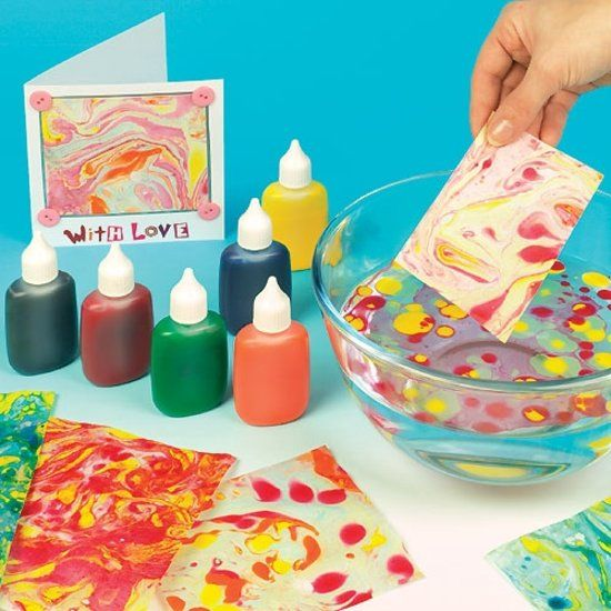 Marbling, Drawing & Printing Inks