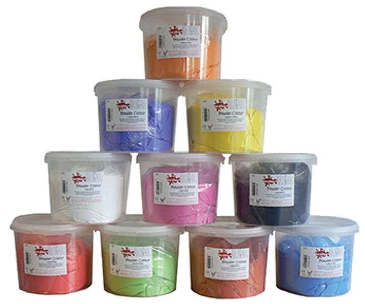 e. Powder Paints