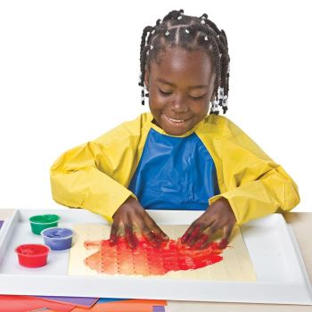 Finger Paint Sensory Paper - Assorted - 30cm - Pack of 36