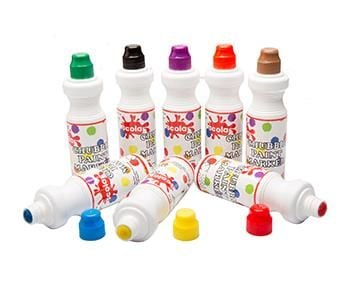 Chubbie Paint Markers - Assorted - 75ml - HE1319187 - Pack of 8