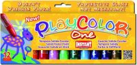 Playcolor Solid Paint Sticks - Assorted - 10g - Pack of 12