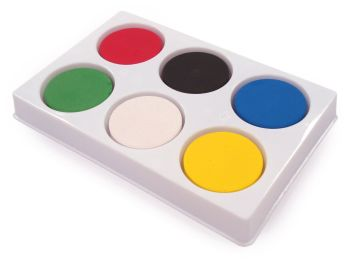 Tempera Colour Blocks Starter Pack - Assorted - No 2 - Pack of 6