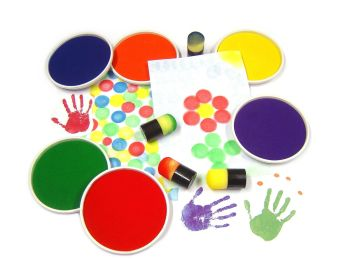Giant Painting Ink Pad - Please Select Colour - 15cm - Each