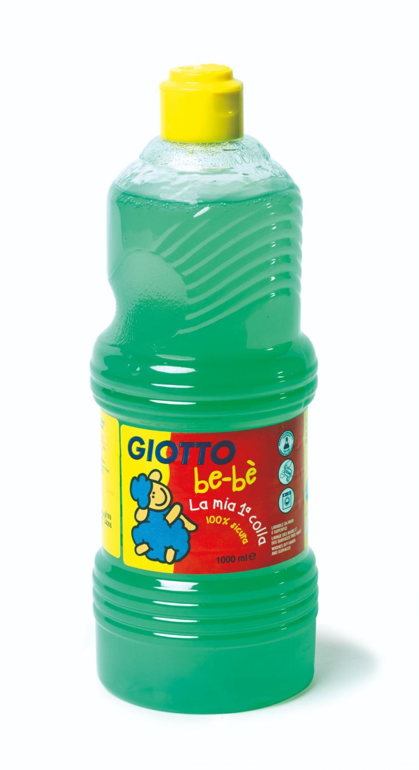 Giotto Bebe My First Liquid Paste Adhesive - 1000ml - Each