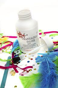 Washable PVA Liquid Adhesive with Brush - Please Select Pack Size - 250ml