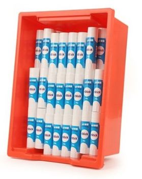 e-Stick Large 40g Glue Sticks - Class Tray of 100