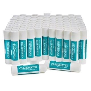 Classmates Medium 20g Glue Sticks - Pack of 100