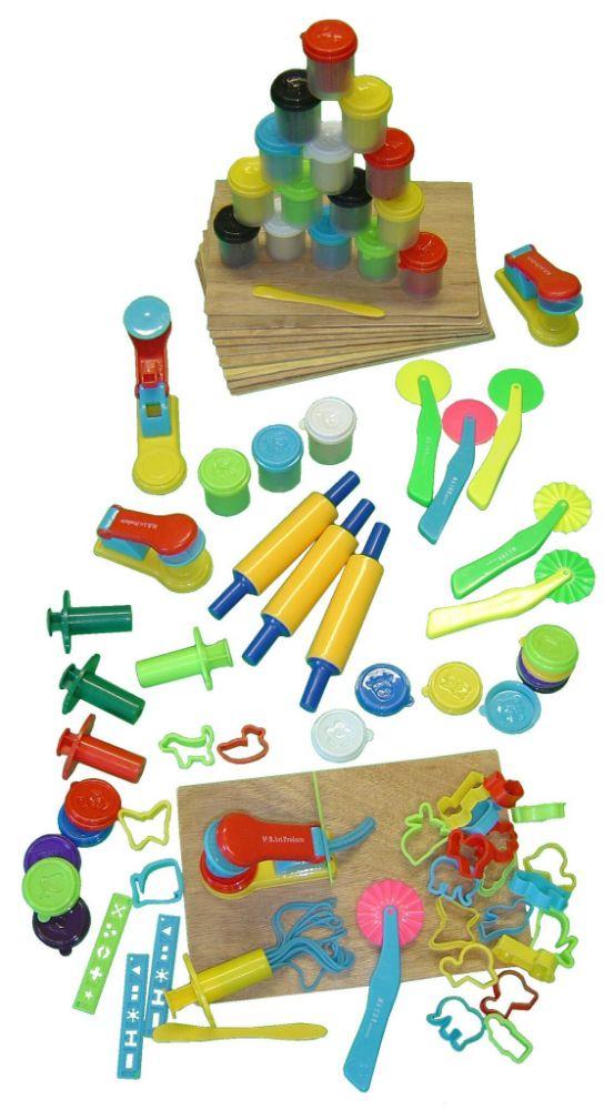 Doughs & Plasticines + Accessories