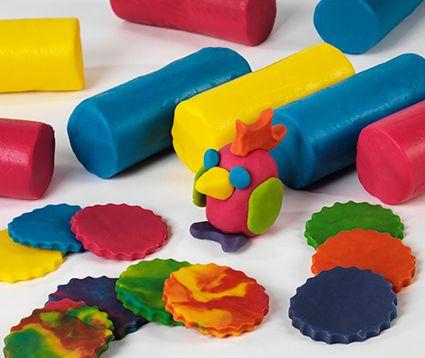 Colour Mixing Soft Dough - Assorted - 1.8kg - Tub