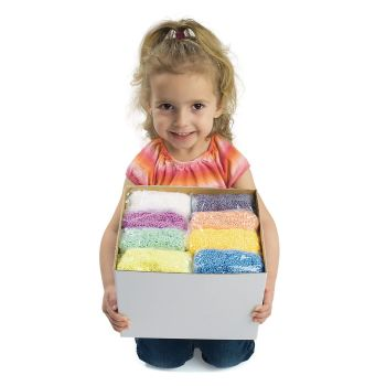 Foam Modelling Dough - Assorted - Pack of 8