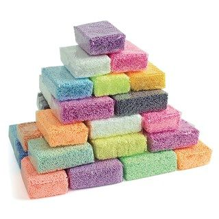 Foam Modelling Dough - Assorted - Class Pack of 36