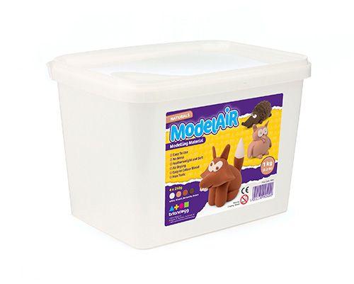 Natural ModelAir Dough - Assorted - 4 x 225g Bucket - Each