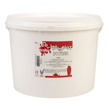 Plaster of Paris Scola Casting Powder - 10kg Bucket - Each
