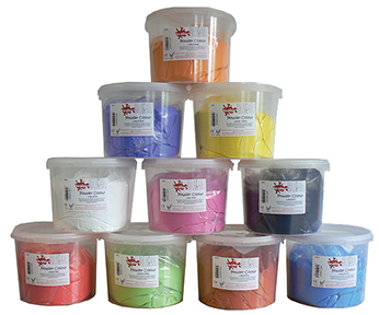 Powder Paints - Please Select Colour - 2.5kg Tub - Each