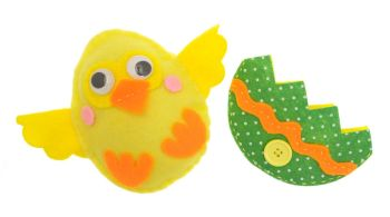 Charlie the Chick Sewing Kit - 12 x 14cm - Pack of 12