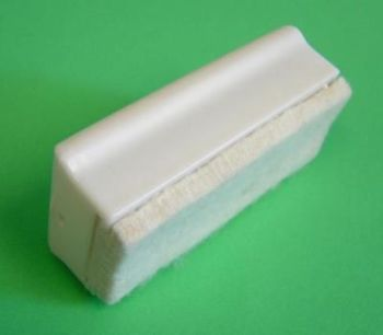 Drywipe Whiteboard Eraser - 12 x 5cm - Each