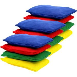 First Play Bean Bags - Assorted - 15 x 10cm - Pack of 12