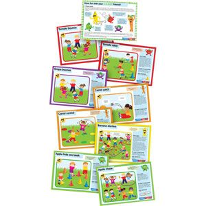 PLAYMATE 5 A Day Character Cards - Assorted - Pack of 9