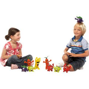 PLAYMATE 5 A Day Character - Assorted - Pack of 5