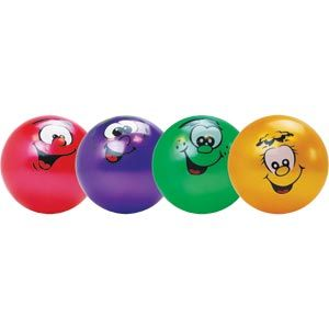 Playmate Smiley Face Playball - 20cm