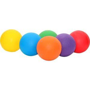 Playmate Standard Foam Ball - Assorted - Pack of 6 - 20cm