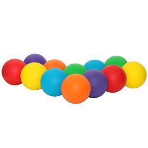 Playmate Standard Foam Ball - Assorted - Pack of 12 - 7cm