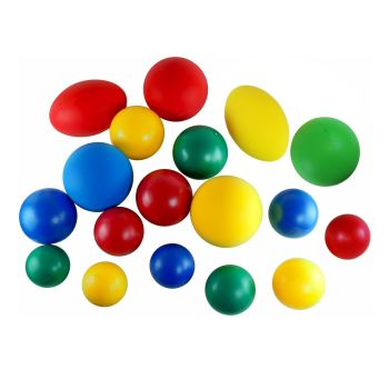 First Play Large Balls - Assorted - Pack of 18