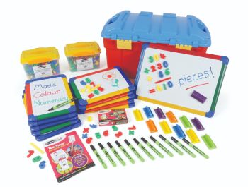 Show-Me Magnetic Numeracy Group Pack - Boards + Accessories - Trunk Pack of 610