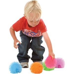 Playmate Small Urchin Ball - Assorted - Pack of 6 Pack - 9cm