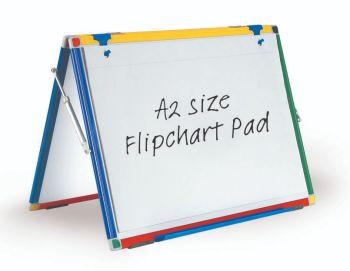 Show-Me A2 Desktop Plain Flipchart Pad - 40 Page - 60 x 45cm - Pack of 5