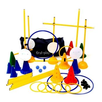 First Play Obstacle Kit - Assorted - Pack of 73