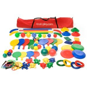 First Play Multi Colour Activity Holdall - Assorted - Bag of 80