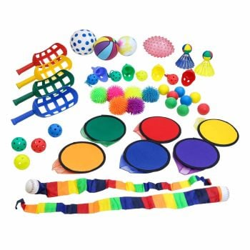 First Play Multi Colour Activity Holdall - Assorted - Tub of 40