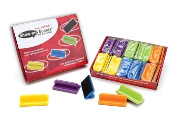 Show-Me Magnetic Mini Erasers - Assorted - Pack of 20