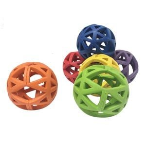 Playmate Flexi Ball - Assorted - Pack of 6 - 9cm