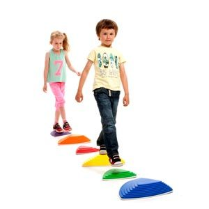 First Play Stepping River Stones -Assorted - Pack of 6