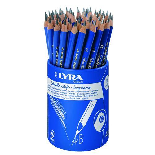 Lyra Easy Learner B Grade Triangular Pencil - Tub of 48