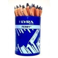 Lyra Ferby Graphite B Grade Half Length Pencils - Tub of 36