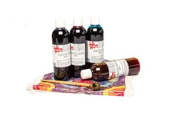 Batik Dyes - Assorted - 250ml - Pack of 4