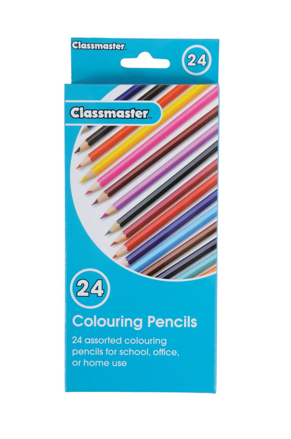 Classmaster Colouring Pencils - Assorted - Pack of 24