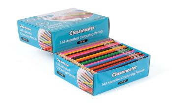 Classmaster Colouring Pencils - Assorted - Pack of 144