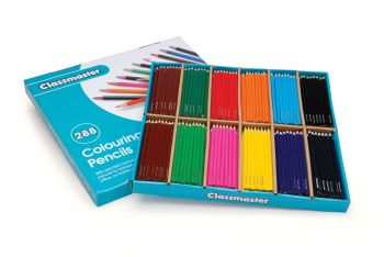 Classmaster Colouring Pencils - Assorted - Pack of 288