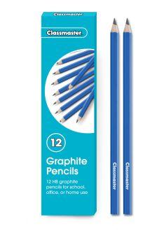 Classmaster Graphite HB Pencils - GP12HB - Pack of 12